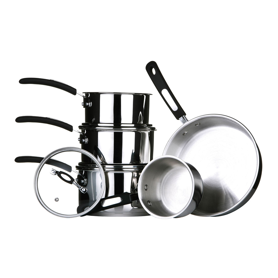 Tenzo 5 Piece Saucepan Set
