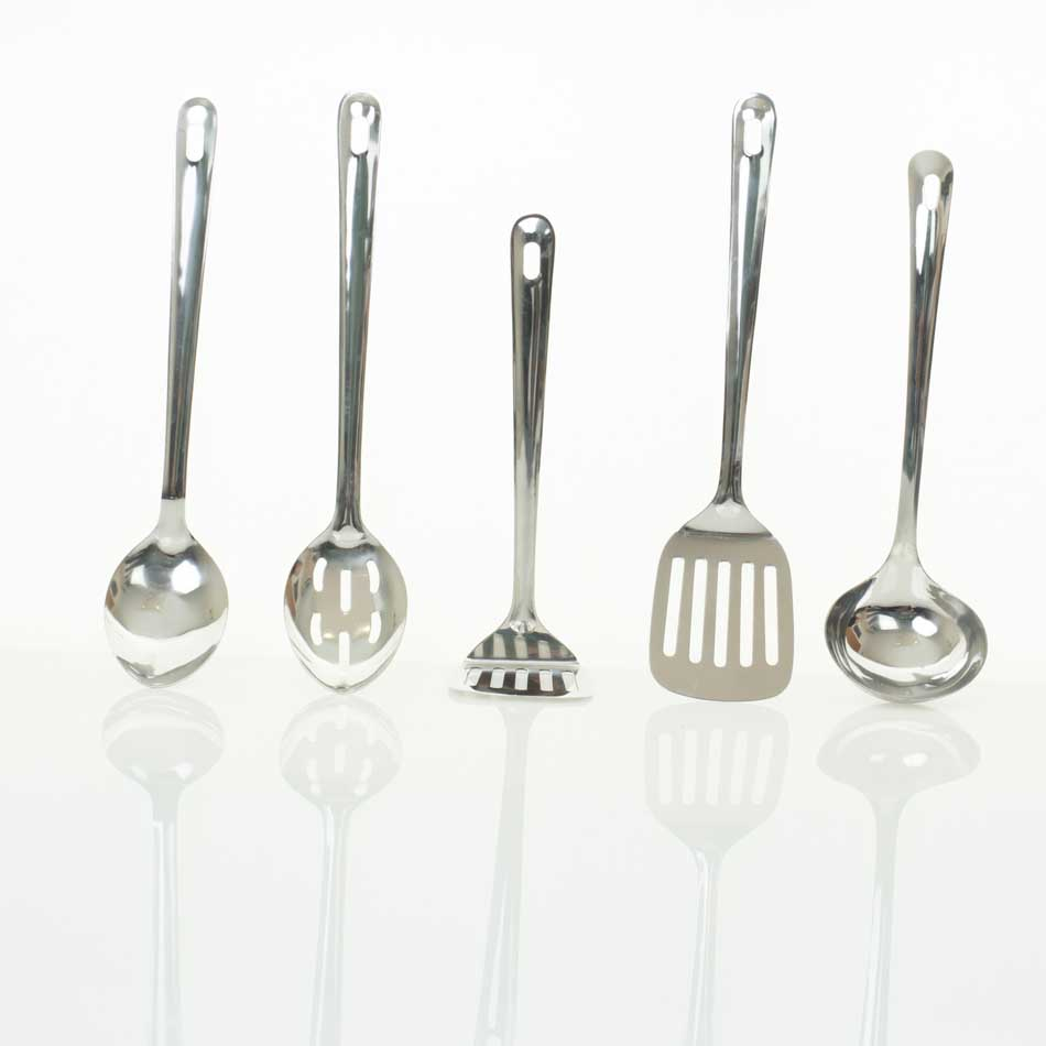 Five Piece Utensil Set