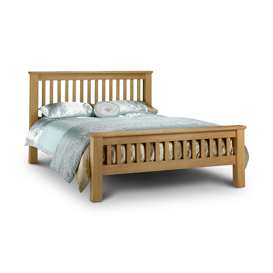 Alice Oak Super King Bed