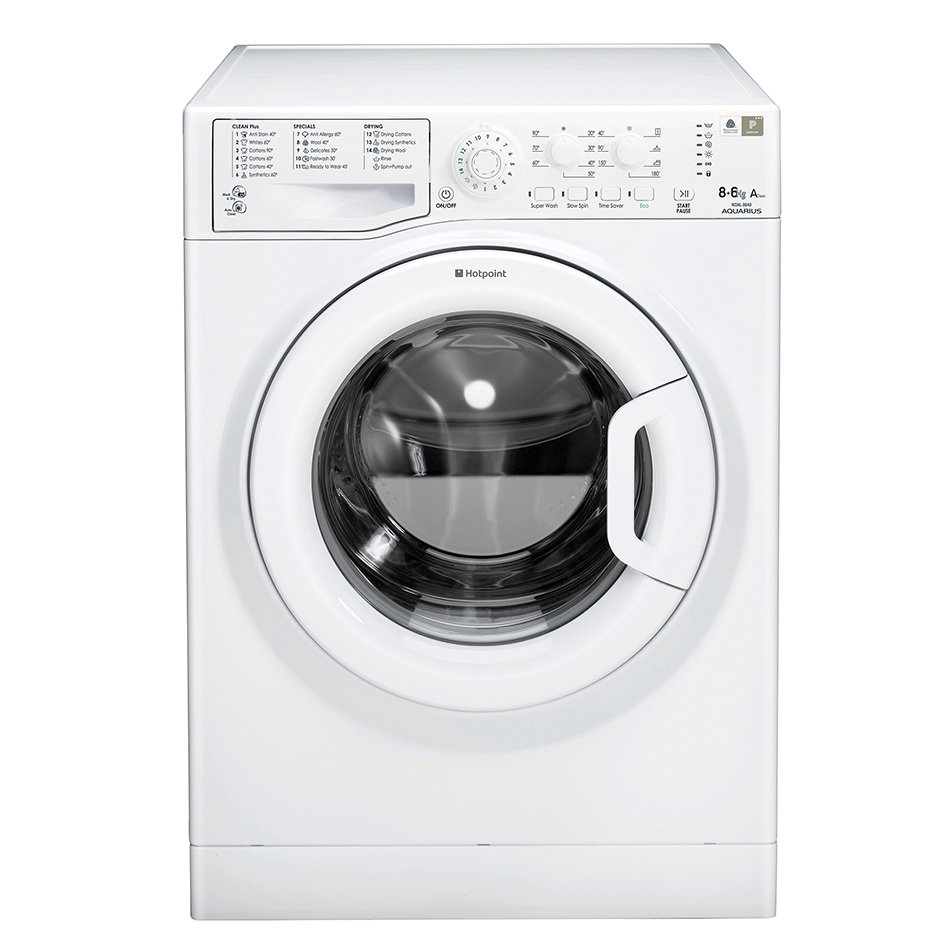 Hotpoint WDAL8640P Washer Dryer