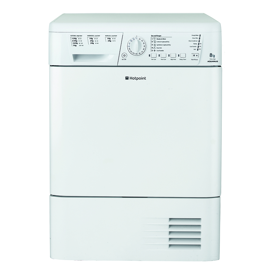 Hotpoint TCHL780BP Condenser Tumble Dryer
