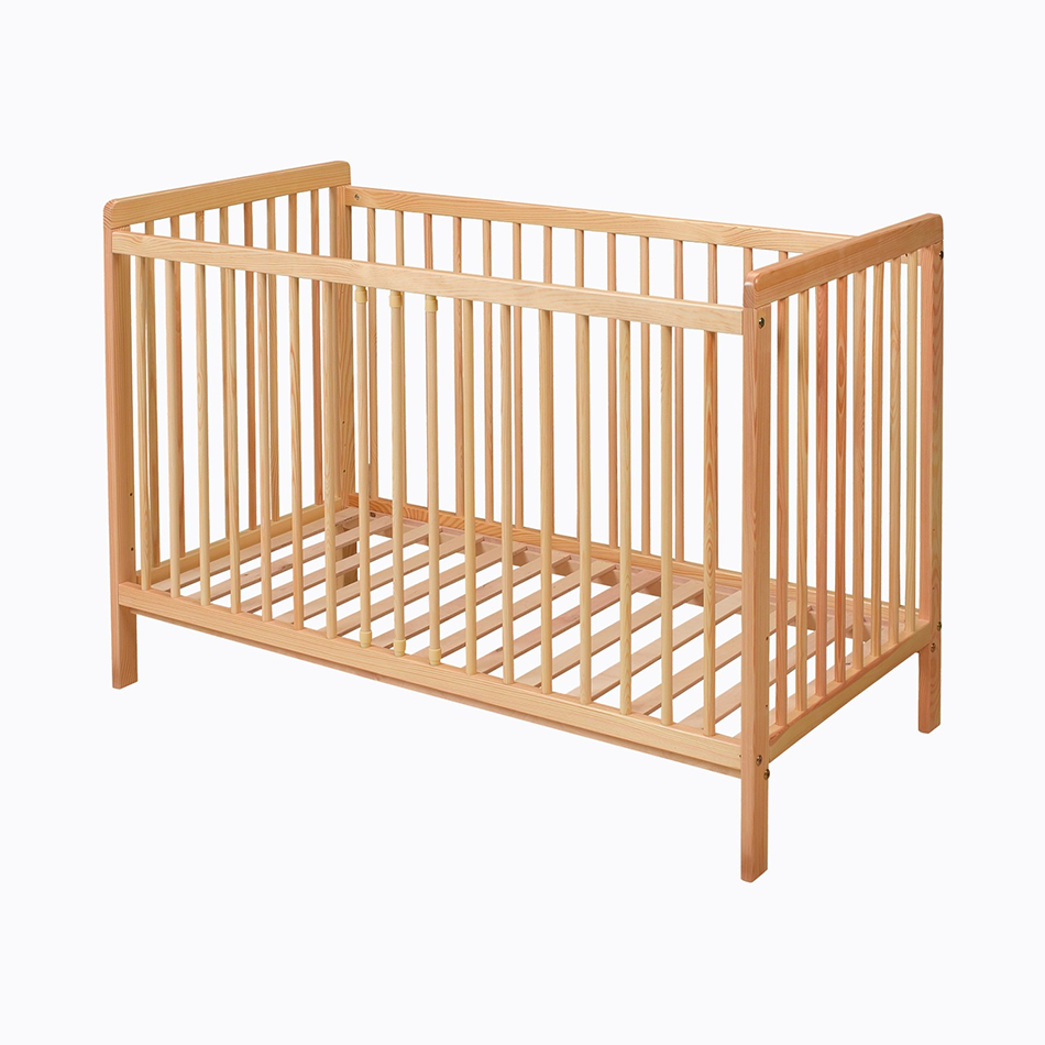 Natural Pine Wooden Cot