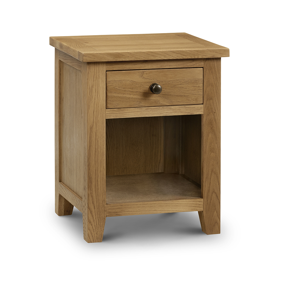 Sienna 1 Drawer Bedside