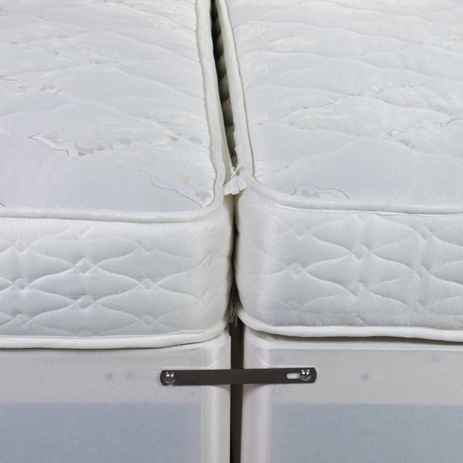 Verona Zip & Link Super King Bed Base & Mattress