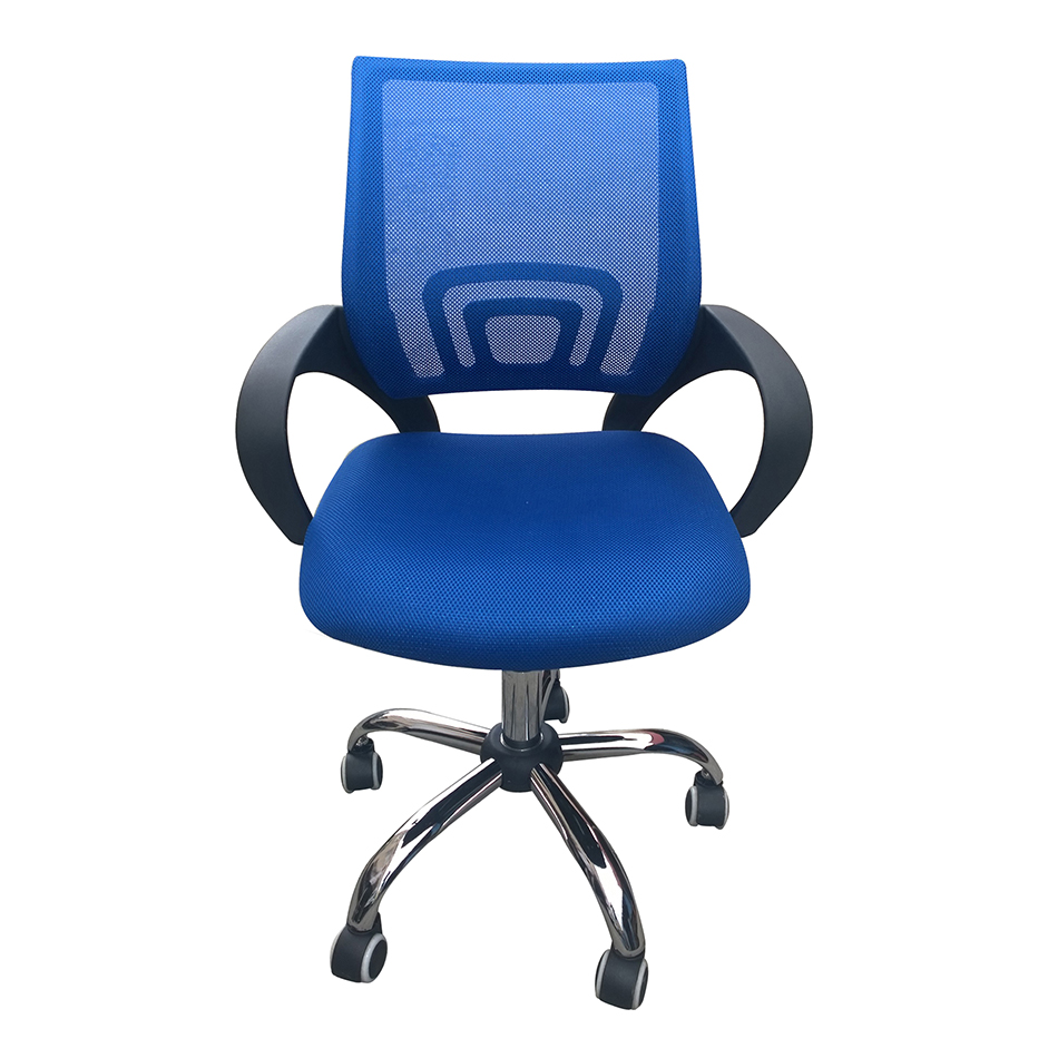 Tate Swivel Office Chair - Blue