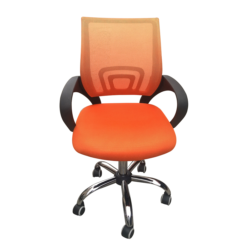 Tate Swivel Office Chair - Orange
