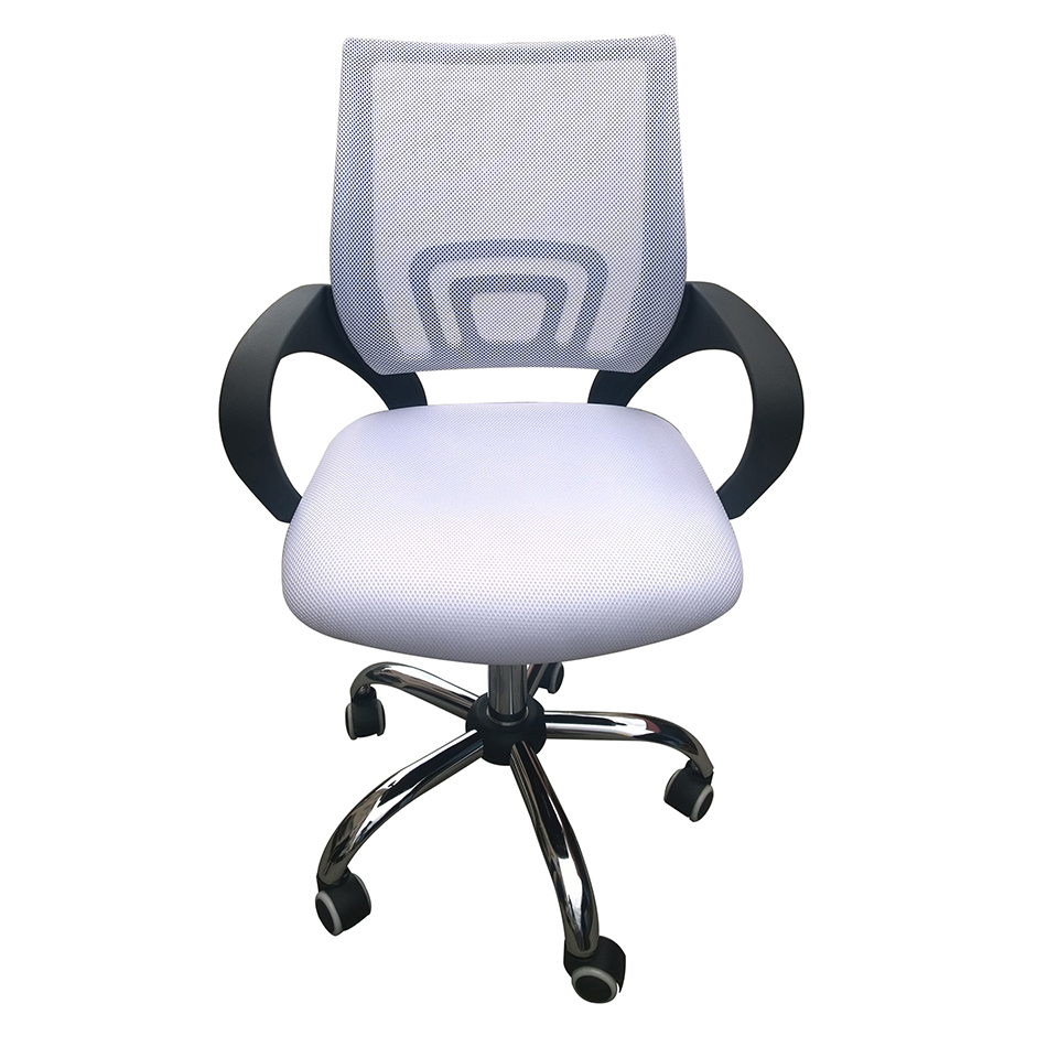 Tate Swivel Office Chair - White