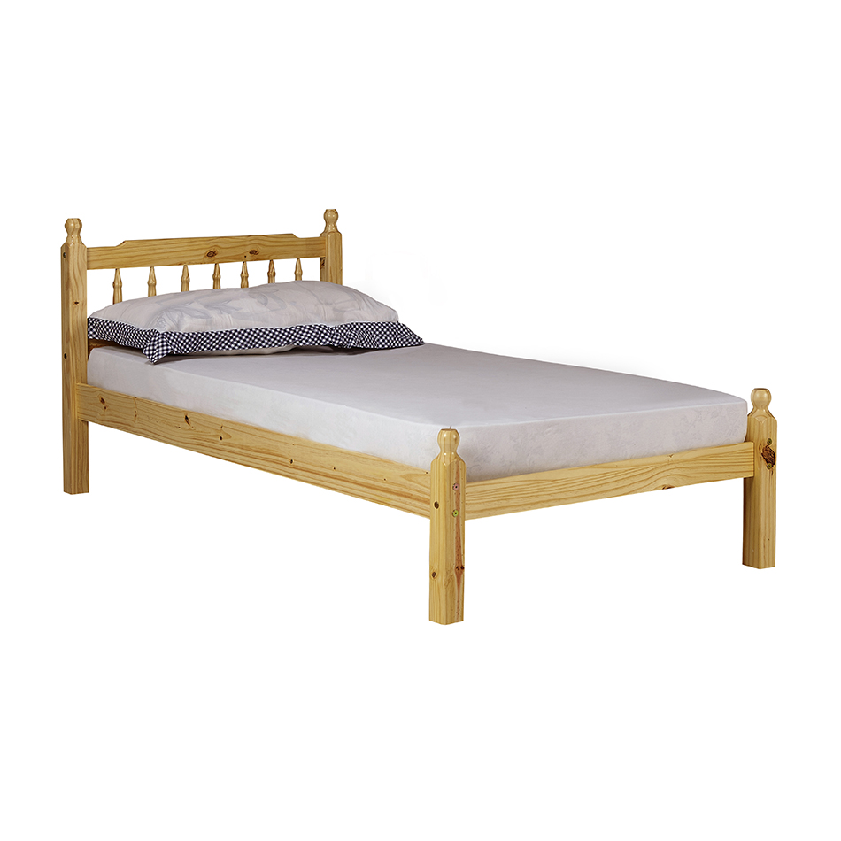Torino Wooden Bed Frame Single