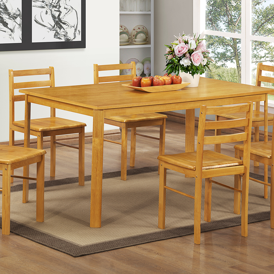 York Large Dining Table - 6 person