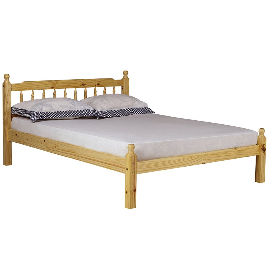 Torino Wooden Bed Frame - Double