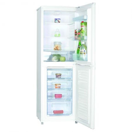 Statesman 55cm 50/50 Freestanding Fridge Freezer White
