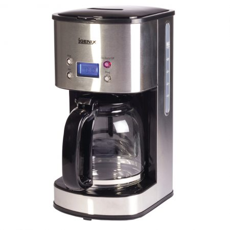Igenix 800W 1.5L Digital Filter Coffee Maker