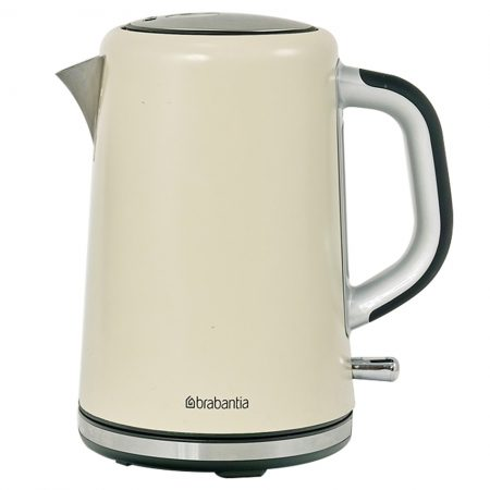 Brabantia Stainless Steel & Almond Kettle