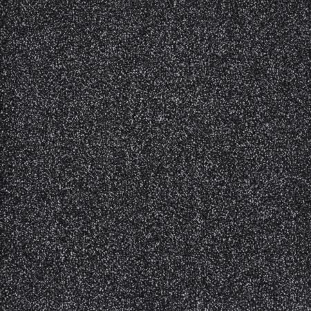 Black/Grey Hessian Back Carpet   Monsoon Pebble 157