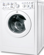 White Washer-dryer